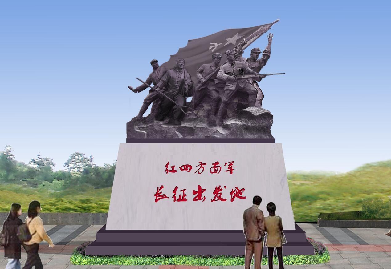 安徽燕子河大峡谷雕塑,华派雕塑设计制作