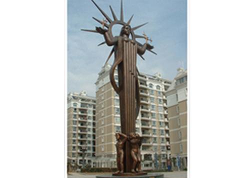 《东方女神》-合肥太阳岛花园主题雕塑