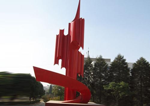 《升腾》-合肥炮兵学院雕塑