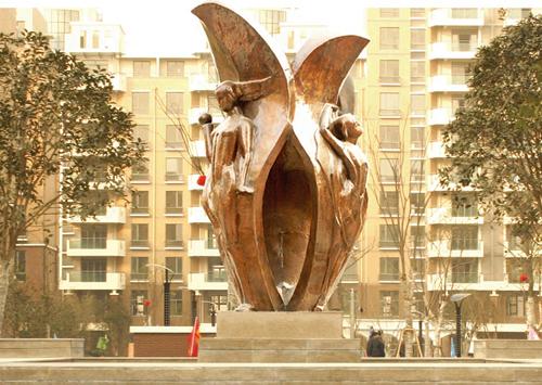 《郁金香》-绿地集团主雕