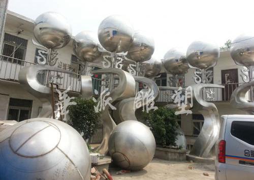 国祯环保标志性雕塑《香溢全球》/50座