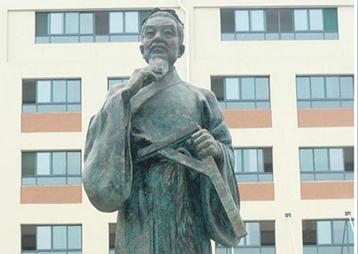 《鲁班》-安徽建工技术学院(学校雕塑)