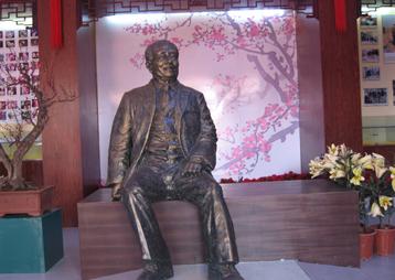 《梅花院士陈俊愉陈列馆》-安徽华派雕塑