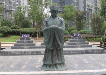 合肥书香门第小区景观雕塑《程门立雪》