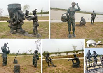 《安徽潜水河》-雕塑景观工程
