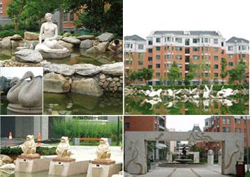 《美人鱼传说》-合肥学府花园景观雕塑
