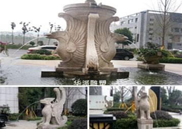 《太阳神鸟》-旭辉地产景观雕塑