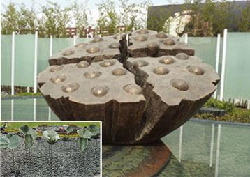 《荷之语》-信地景观雕塑