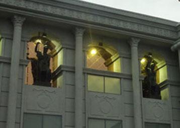 琴港欧式人物雕塑——安徽华派雕塑制作