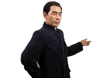 周恩来蜡像——安徽华派雕塑设计与制作
