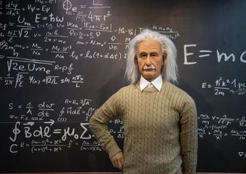 爱因斯坦蜡像