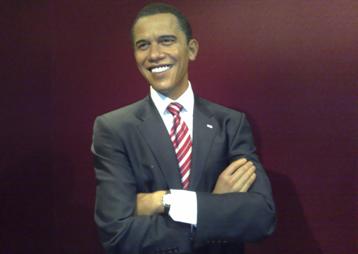奥巴马蜡像