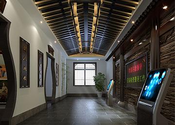 安徽省女子监狱——展厅布展施工。
