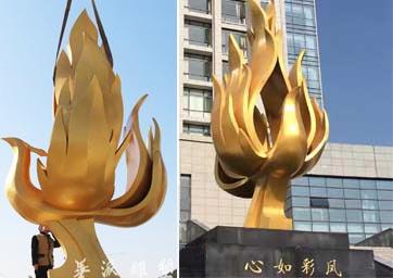 《心如彩凤》-监狱主题性雕塑  安徽华派雕塑