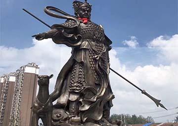 滁州美丽乡村主题雕塑——二郎神文化
